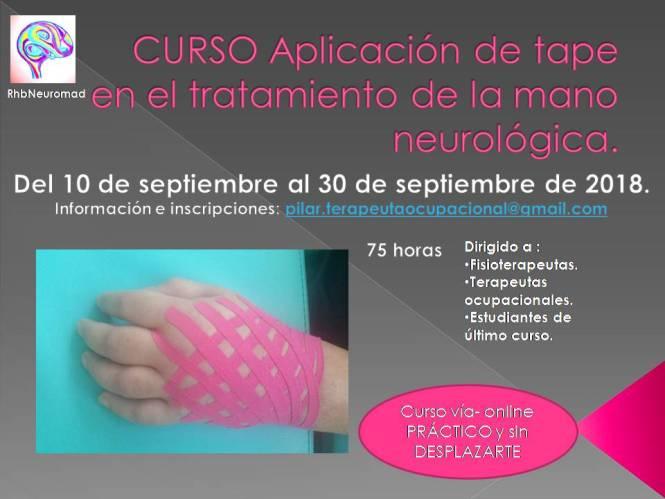 CURSO Aplicación de tape en el tratamiento de