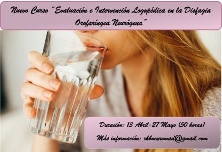 cartel promoción curso DISFAGIAA
